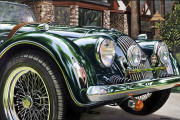 Morgan Car Art Print|Falconer's Morgan