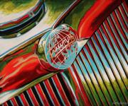 Triumph Car Art Print|Triumph Roadster
