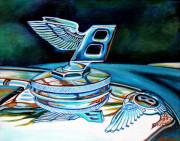 Bentley Car Art Print Bentley at the Ritz