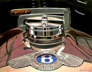 Bentley Car Art Print Bentley Rad Cap