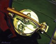 Bentley Car Art Print Bentley Vintage Gas Cap