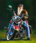 Harley Motorcycle Art Print|Glory Days