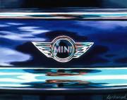 Mini Car Art Print Mini Cooper Logo