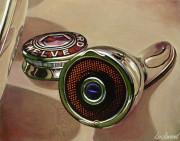 Packard Car Art Print|Packard 12 Rear Lamp
