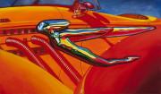 Auburn Car Art Print|Auburn Flying Lady