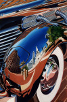 Cord Car Art Print|Indy Cord