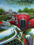 Chrysler Car Art Prints|Dayton Concours