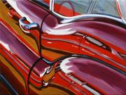 Buick Car Art Print|Buick Reflection