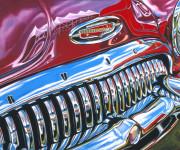 Buick Car Art Print|Barrett Jackson Buick