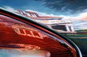 Dodge Car Art Print|State Street Aurora