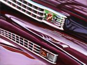 Cadillac Car Art Print|Cadillac Grille
