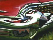Cadillac Car Art Print|Cadillac Bullet Bumper