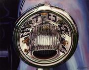 Car Art Print|Vintage Stoplight