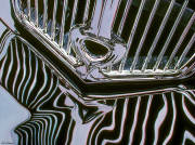 Vintage Car Art Print|Vintage Black & Chrome #1
