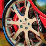 Maserati Car Art Print|Duo Italiano