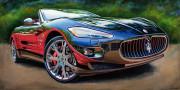 Maserati Car Art Print|Italian Dream