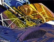 Maserati Car Art Print|Maserati Birdcage