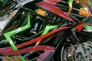 Kawasaki Motorcycle Art Print|Impulse