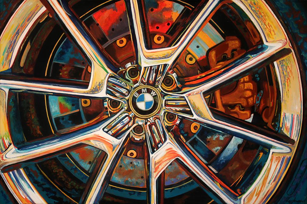 BMW Car Art  Print|BMW at Villa d'Este