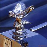 Rolls-Royce Car Art Print|Rolls-Royce Hood Ornament|Spirit of Ecstasy