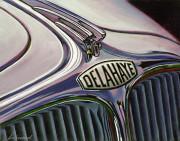 Delahaye Car Art Print|Delahaye Grille