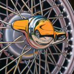 MG Car Art Print|MGA Knock Off