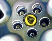 Lotus Car Art Print|Lotus Wheel