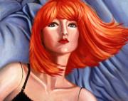 Mannequin Art Print|Red