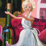 Marilyn Monroe Art Print Baby Doll