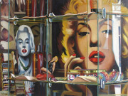 Marilyn Monroe Art Print Gentlemen Prefer Blondes