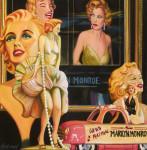 Marilyn Monroe Art Print Girls Night Out
