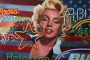 Marilyn Monroe Art Print Star Light Star Bright
