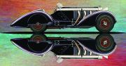 Mercedes Benz Car Art Print| Count Trossi