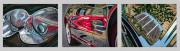 Mercedes Benz Car Art Print|Mercedes SL 500