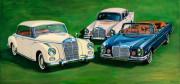 Mercedes Benz Car Art Print|Beautiful Creatures