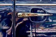 VW Car Art Print|Volkswagon Door Handle