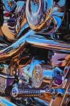Harley Davidson Motorcycle Art Print| Live to Ride