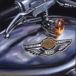 Harley Davidson Motorcycle Art Print| V-Rod