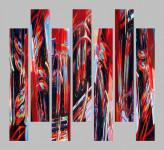 Abstract Car Art Prints|Hot Rod Pipes
