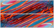 Abstract Car Art Print|Hot Rod Aurora