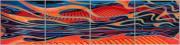 Abstract Car Art Print|Boogie Woogie Blues