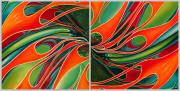 Abstract Car Art Print|Color My World