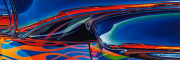 Abstract Car Art Print|CloseEncounteres
