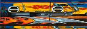 Abstract Car Art Print|Truck Stop