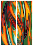 Abstract Car Art Print|Swish, Swoosh