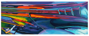 Abstract Car Art Print|Zoom Zoom