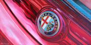 Alfa Romeo Car Art Print|Alfa 4c