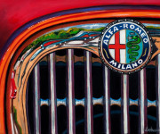 Alfa Romeo Car Art Print|Alfa Logo