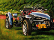 Aston Martin Car Art Print|1935 Lagonda
