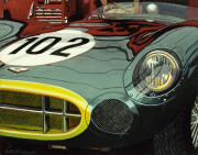 Aston Martin Car Art Print|Aston Martin